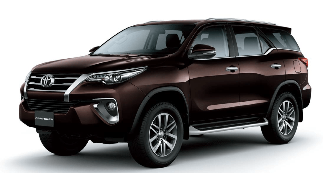 Rental Toyota Fortuner 2017