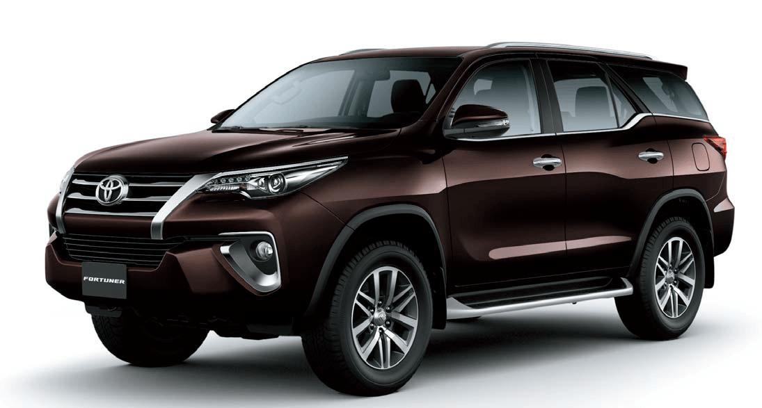 Rental Toyota Fortuner 2017