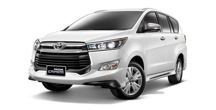 Rental Toyota Inova 2017